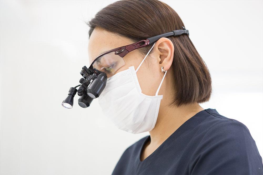 歯科拡大鏡(歯科用ルーペ)